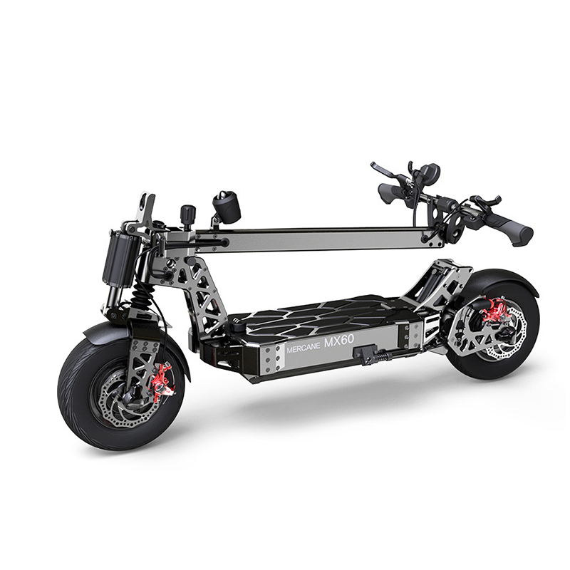 Mercane MX60 extreme electric scooter folded