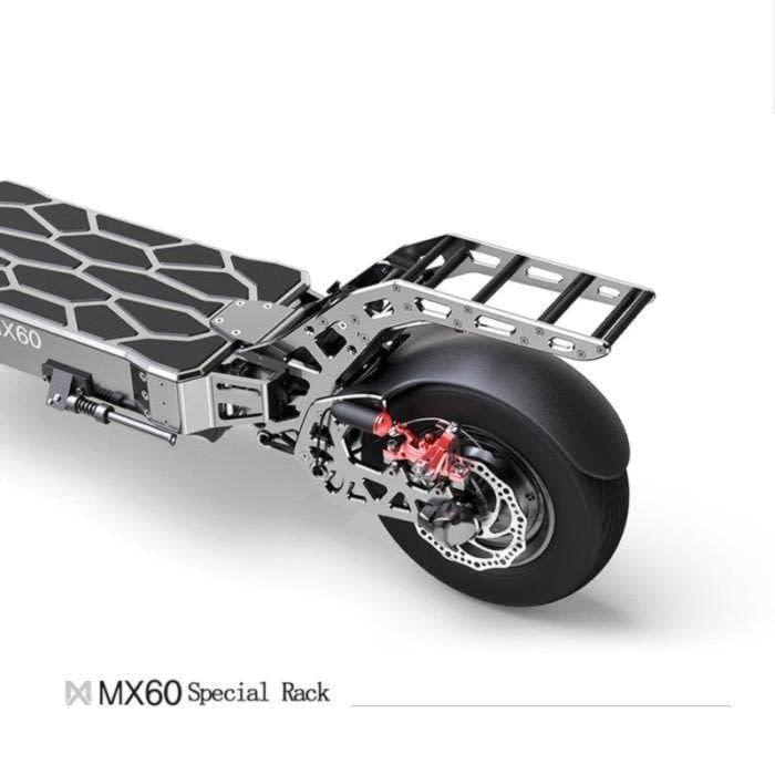 Mercane MX60 extreme electric scooter rear rack