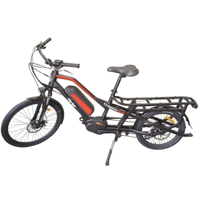Cargoroo Max 2018 mid drive electric cargo bike by Ride the Glide