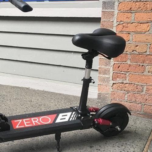 Zero 8 electric scooter seat attachment