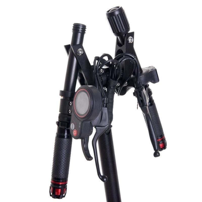 Zero 8X dual motor compact electric scooter, folding handlebar. Ride the Glide Canada