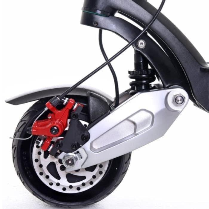 Zero 8X dual motor electric scooter front suspension. Ride the Glide Canada