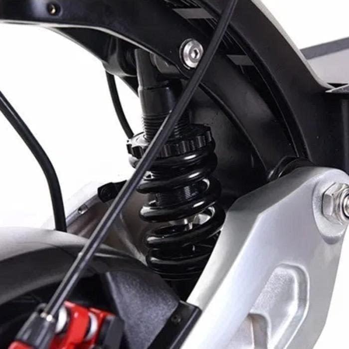 Zero 8X dual motor, dual spring and hydraulic suspension. Ride the Glide, Canada