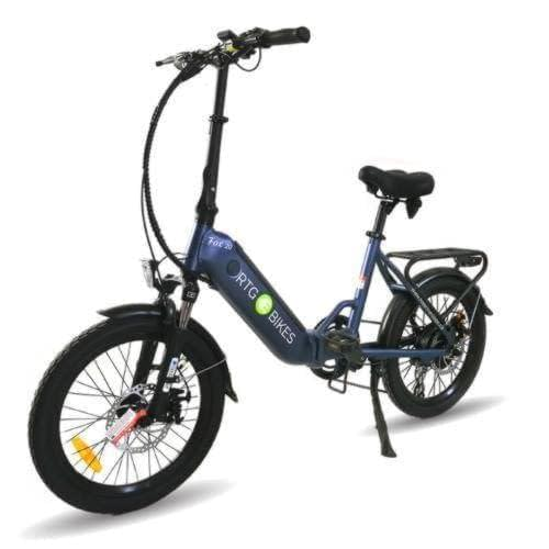 Fox 20 step through folding electric bike by Ride the Glide, Ride Electrified